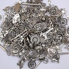 100g Tibetan Lot Wholesale Vintage Steampunk Mixed Keys Pendants DIY Craft