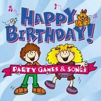 Happy Birthday: Party Games & Songs - Audio CD - VERY GOOD