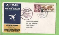 U.S.A. 1965 Air New Zealand DC-8 Flight cover, Pago Pago to Nandi Fiji