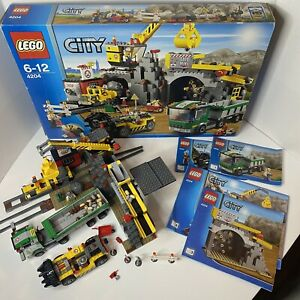 LEGO City The Mine 4204 100% Complete With Box Large Set