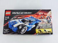 LEGO Racers 8163 Blue Sprinter car building toy kit 110 pcs New Sealed technic