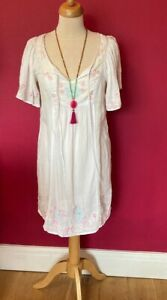Falmer Heritage  Embroidered   Tunic Dress Top  Size 12-14