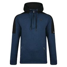 Mens Fleece Sweater Hiking Camping Hoodie Outdoor Winter Gym Work Jumper Comply