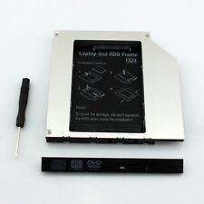 2nd HD SSD hard drive Caddy Adapter For HP ProBook 6360b 6470b 6475b 6570b 6575b