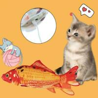 Electronic Pet Cat Toy Electric Simulation Fish USB Charging Toys Sale