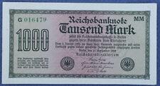 # 1000 Mark 1922 Ros.75 F stan AU ...od 3,99,zl #