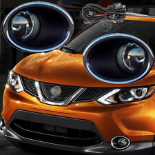 Front Halogen H11 Fog Lamps Light For Nissan Qashqai 2014 2015 2016 /One Pair