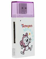 Technotech BEN-10 Card Reader T-Flash, Micro SD/SDHC (Color/Design May Vary)