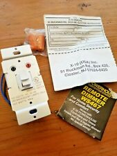 X-10 Powerhouse Remote Dimmer Switch: Remote On/Off Model Ws467 White
