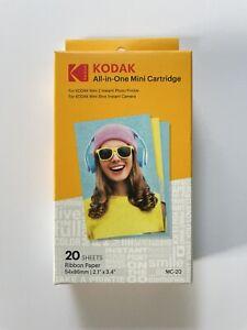KODAK Mini Cartridge For Mini 2 Printer And Mini Shot Instant Camera 20 Sheets