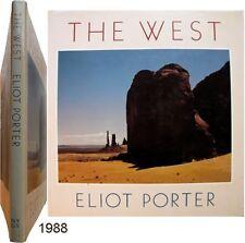 The West 1988 Eliot Furness Porter photographie ouest américain nature