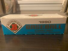 New listing 1990 Bowman Tiffany Baseball Factory Set Frank Thomas RC Sosa Griffey Belle READ