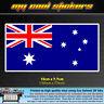 15cm Australian Flag Vinyl Sticker Decal for car ute 4x4 window bumper Australia