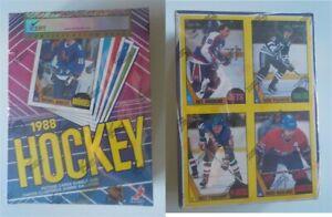 1987-88 O-Pee-Chee Hockey Empty Wax Box Grade EX-NM 6 iCert