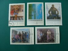 Russia Painting By Soviet Artist 7Th Republican Art Exhibition 5 Stamps Bell18