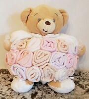 KALOO Plush BEAR Teddy  Round Plump Stuffed Baby Animal Chubby