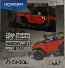 Axial 1/24 SCX24 Deadbolt 4WD Rock Crawler Brushed RTR, Red AXI90081T1