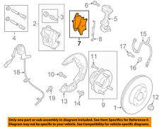 FORD OEM Brake-Front Pads DG9Z2001F