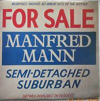 MANFRED MANN For Sale Semi-Detached Suburban EMI LP EMTV19 - EXC