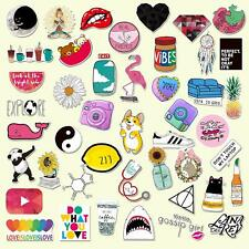 Stickers for Water Bottles Big 50-Pack Cute,Waterproof,Aesthetic,Fashion Sticker