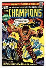 Champions Vol 1 No 1 Oct 1975 (VFN) (8.0) Marvel, Bronze Age (1970 - 1979)