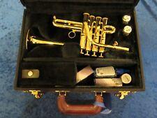 Carol Brass CPC-7774-YSL Bb/A Piccolo Trumpet - Lacquer (Refurbished)