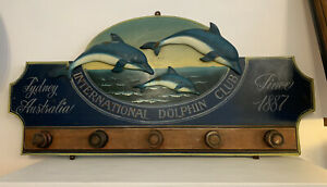International Dolpin Club 3D Sign Sydney Australia Since 1887 Country Corner...