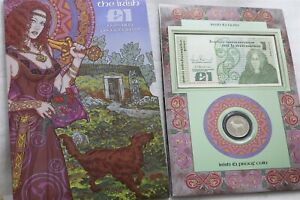 Ireland, 1990 PUNT (£) 1990 Proof Coin & Note Collection FDC B33 CG45