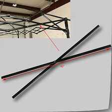 """Quik Shade Summit Series 10x10 Canopy SIDE TRUSS Bar 40"""" Replacement Part Black"""