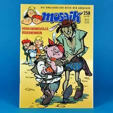 Mosaico Abrafaxe 258 | maggio 1997 | DDR DA COLLEZIONE c1 | disastrosa incontri