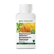 NUTRILITE Chewable Vitamin E and Lecithin Amway 110 tablets