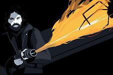 "The Thing RJ MacReady Poster Print by Craig Drake  24"" x 36"" Ed 182"
