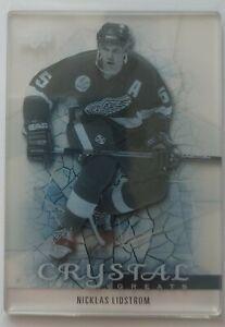 2013-14 UD Trilogy Crystal Greats C22: Nicklas Lidstrom Detroit Red Wings