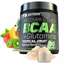 ▶ BCAA Glutamine 30 Servings Muscle Recovery USA Amino ACID Best After Sports