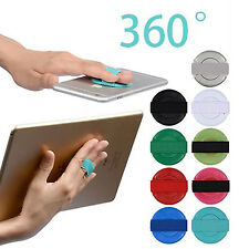 Finger Grip Mobile Phone Secure Selfie 360 Rotate Holder Handle iPhone Samsung Red Dummy