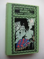 DOCTOR DOLITTLE'S GARDEN Hugh Lofting ILLUSTRATED HC 1927 4th Printing - G1