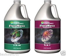 General Hydroponics FloraNova Series 128oz GROW & BLOOM Combos SAVE W/ BAY HYDRO