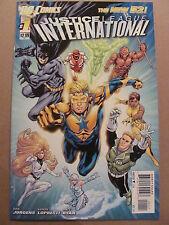 Justice League International #1 DC Comics 2011 NEW 52 Dan Jurgens 9.6 Near Mint+