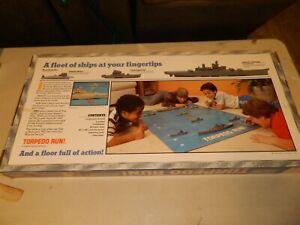 TORPEDO RUN - VINTAGE 1986 MILTON BRADLEY FLOOR WARS BOARD GAME -