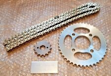 HONDA CBR 125 R / F JC50A 2015-2017   HEAVY DUTY GOLD CHAIN AND SPROCKETS KIT