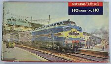 HORNBY ACHO 6150 SNCF 060 DB LOCO COACH SET EXC RUNNER MAINLY REALLY EXCELLENT