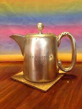 Reduced-Vintage Sheffield Silver hard soldered EPNS vented handle coffee pot
