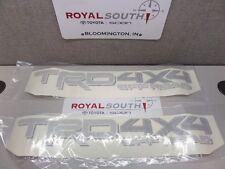 Toyota Tundra 14-17 TRD 4x4 Off Road Decal Emblem Sticker Kit Genuine OE light