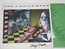 The J. GEILS BAND-freeze-frame-LP