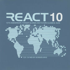 React 10 / F.C. Kahuna Deep Dish Lee Coombes Reactivate Funk D'Void Dataflow 2CD