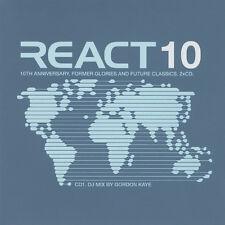 React 10 / F.C. Kahuna Deep Dish Lee Coombes Reactivate Funk D'Void Dataflow 2CD