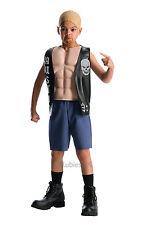 Fancy Dress Costume ~  Boys WWE Deluxe Stone Cold Steve Austin Age 3-10