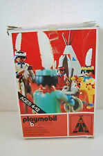 Playmobil, (3252)  Tent / Canoe / Cooking Pots in BOX !!!!!!!!!!!Very RARE !!!!