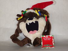 Taz Reindeer hat bean bag plush new with tags 1999 Warner Store  collection