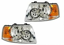 THOR HURRICANE 2010 2011 2012 2013 PAIR HEADLIGHTS HEAD LAMPS FRONT LIGHTS RV